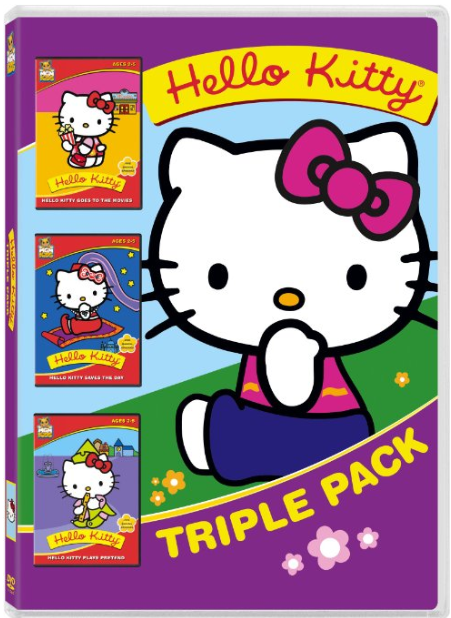 Hello Kitty Triple DVD Movie Pack Only $4.99 + FREE Prime Shipping (Reg. $20)!