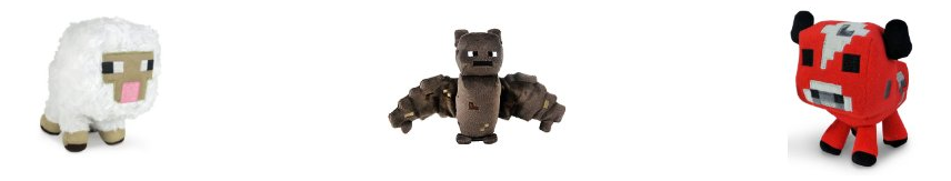 Minecraft Plush Figures
