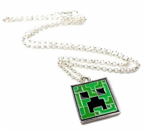 Minecraft Creeper Necklace Only $5.36 + FREE Shipping (Reg. $13)!