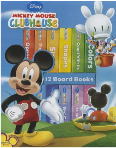 My First Library: Mickey Mouse Clubhouse Only $8.98 + FREE Prime Shipping (Reg. $15)!