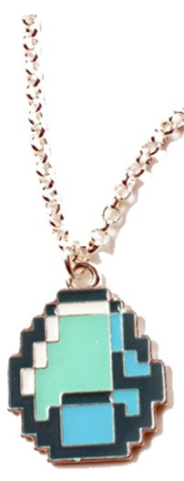 Minecraft Diamond Pendant Necklace Only $4.47 + FREE Shipping (Reg. $10)!