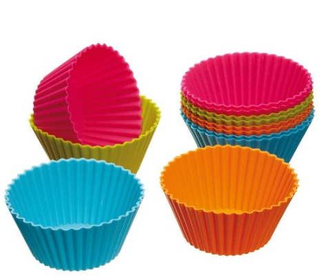 Colorful Silicone Cupcake and Muffin Liners 12-Pack Only $3.09 + FREE Shipping (Reg. $15)!