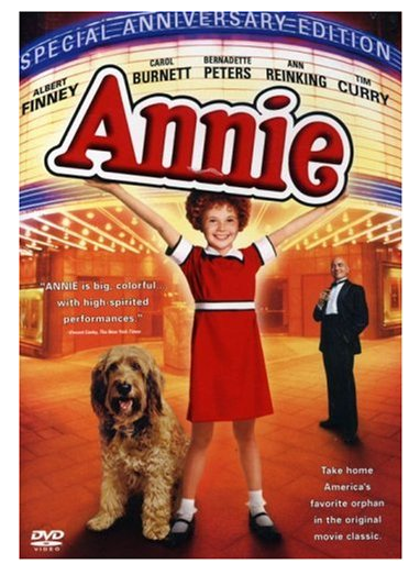 Annie Special Anniversary Edition DVD Only $5 + FREE Prime Shipping (Reg. $10)!