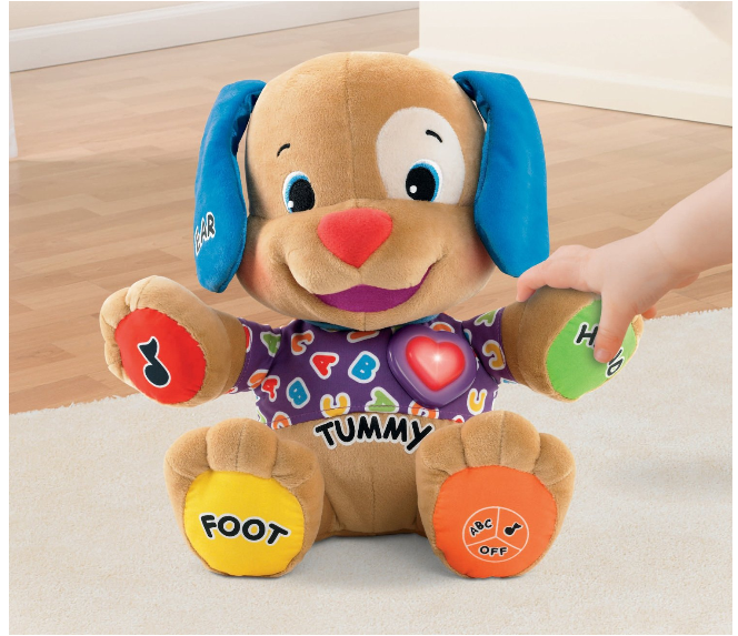Fisher Price Laugh & Learn Puppy Just $12 + FREE Prime Shipping (Reg. $25)!