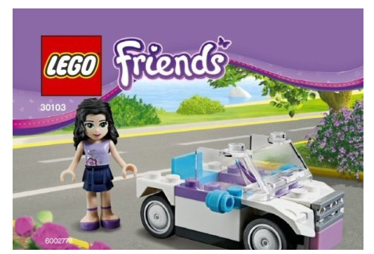 LEGO Friends Emma's Car Only $9.19 + FREE Prime Shipping!