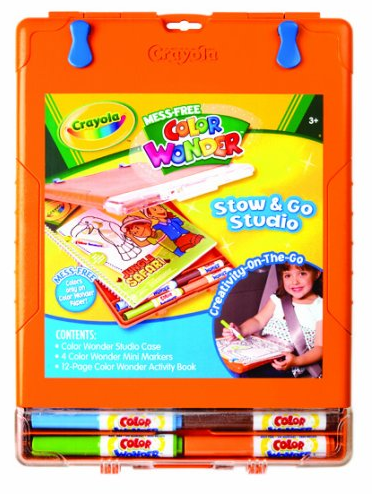 Crayola Wonder Stow & Go Studio Only $9.96 + FREE Prime Shipping (Reg. $14)!