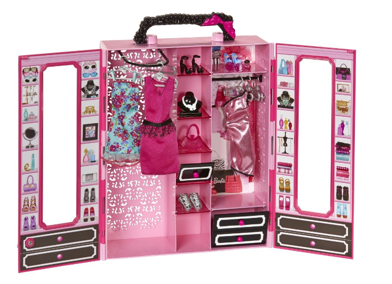 Barbie Closet and Fashion Set Only $14.99 + FREE Prime Shipping (Reg. $25)!