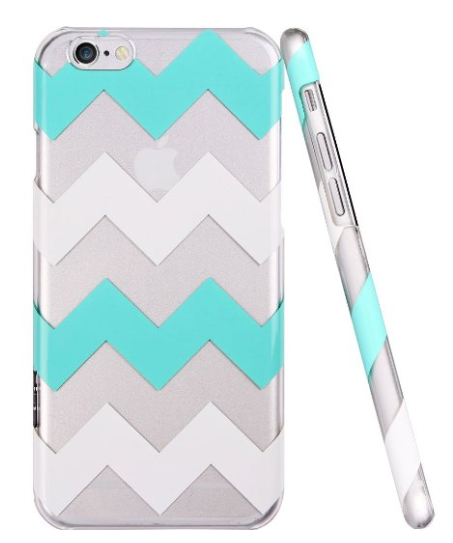 Green & White Chevron iPhone 6 Case $9.99 + FREE Prime Shippimg (Reg. $26)!