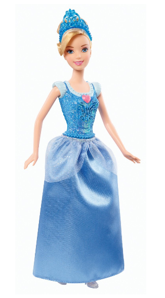 Disney Princess Sparkling Princess Cinderella Doll ONLY $10 + FREE Prime Shipping!