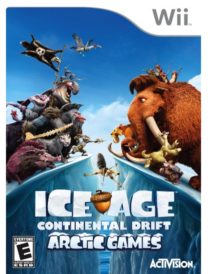 Ice Age: Continental Drift Arctic Games for Wii Just $2.87 + FREE Prime Shipping (Reg. $30)!