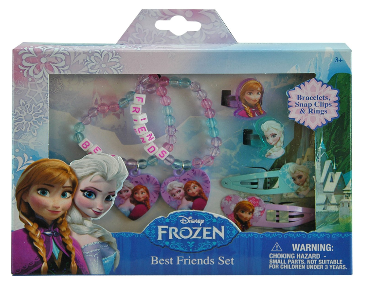 Disney Frozen Elsa and Anna Girls Hair and Jewelry Accessory 6 Piece Gift Set $6.27 + FREE Prime Shipping!