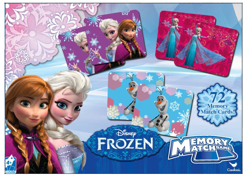 Disney Frozen Memory Match Game $6.99 + FREE Prime Shipping!