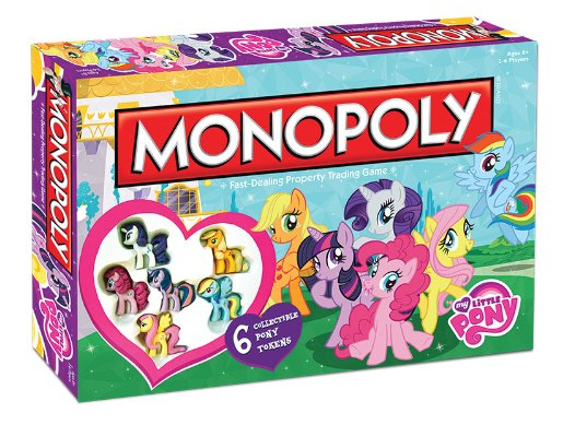 My Little Pony Monopoly $21.99 + FREE Prime Shipping (Reg. $46)!
