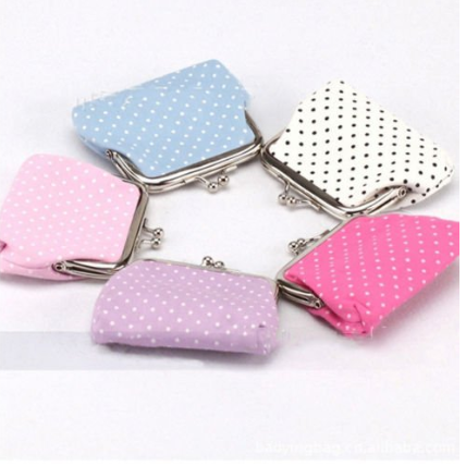 Cute Polka Dot Coin Purses As Low As $2.10 + FREE Shipping!
