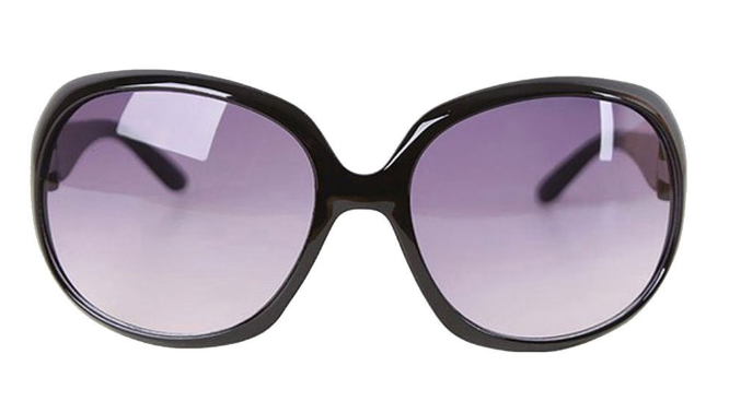 Cute Oversized Black Sunglasses Just $1.99 + FREE Shipping!
