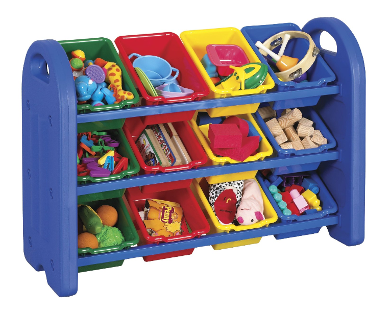 ECR4Kids 3-Tier Toy Storage Organizer with 12 Bins Only $49.49 + FREE Shipping (Reg. $100)!