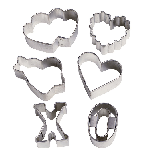 Wilton Valentine's 6 Piece Mini Cutter Set Only $5.95 + FREE Prime Shipping!