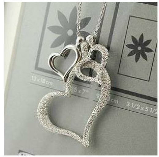 Triple Hearts Necklace Only $1.98 + FREE Shipping!