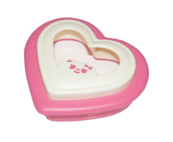 Heart Shaped Sandwich Cutter Maker Cookie Crust