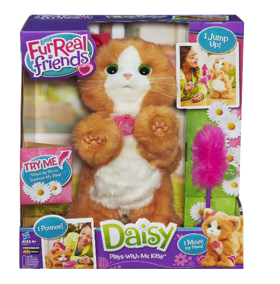 FurReal Friends Daisy Plays-With-Me Kitty Toy Just $19.00 + FREE Prime Shipping (Reg. $50)!