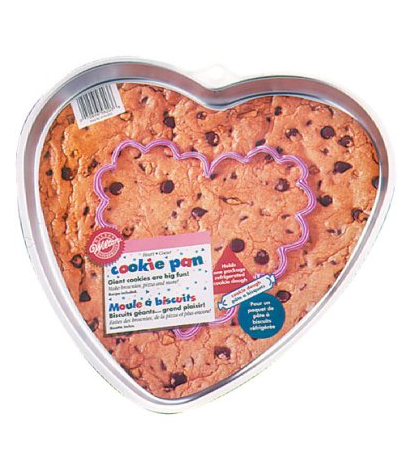 Wilton Heart Giant Cookie Pan Only $7.91 + FREE Shipping!