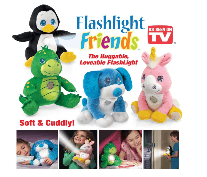 HURRY!  Flashlight Friends As Low As $9.56 + FREE Prime Shipping (WAS $20)!
