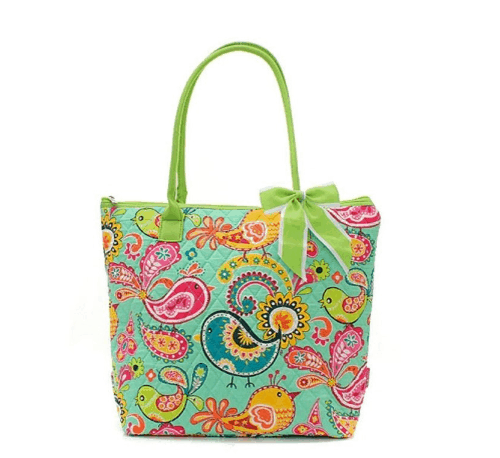 Quilted Bird Tote Bags ONLY $23 SHIPPED!
