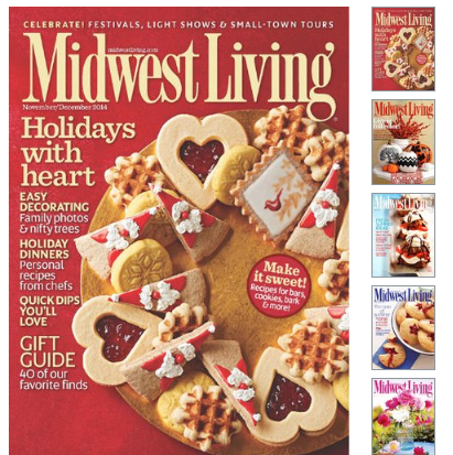 Midwest Living Magazine ONLY $4.99 A Year (Recipes, Crafts + More)!