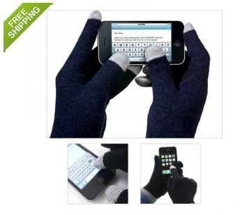 2 Pack Conductive Touch Screen Gloves Only $2.99 + FREE Shipping (Reg. $30)!