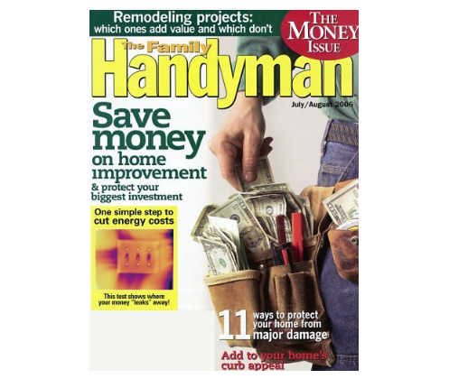 Family Handyman Magazine Just $6.99 A Year!