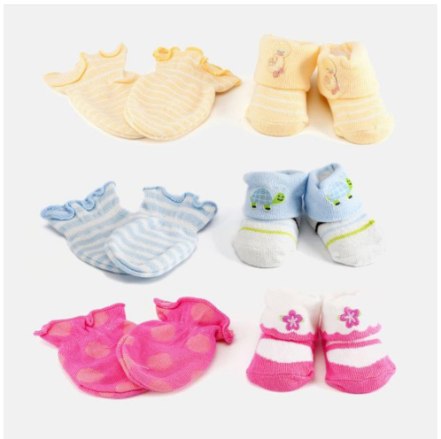 Newborn Baby Socks & Mitten Sets Only $4.99 Shipped (Reg. $30)!