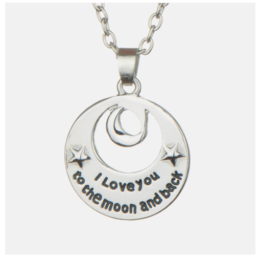 I Love You To The Moon And Back Necklace Only $8.98 SHIPPED (Reg. $99)!