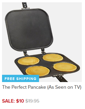 The Perfect Pancake (As Seen on TV) Only $10 + FREE Shipping (Reg. $20)!