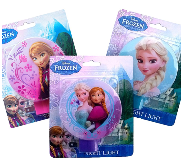 2-Pack Of Disney Frozen Night Lights Only $8.99 + FREE Shipping!