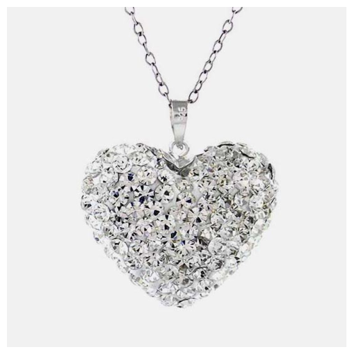 Swarovski Elements Bubble Heart Pendant ONLY $13.99 + FREE Shipping (reg $150)!