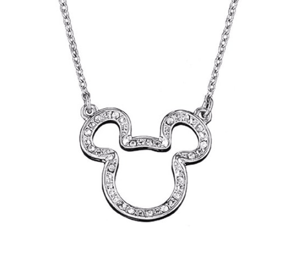 Mickey Mouse Pendant Necklace ONLY $9.99 + FREE Shipping (WAS $20)!
