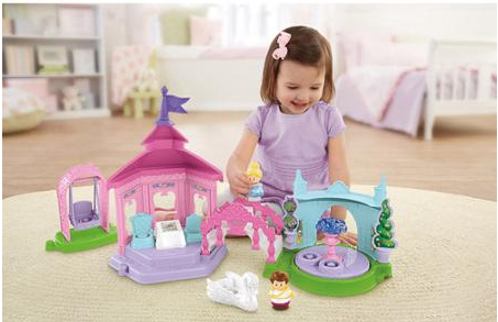 Fisher-Price Little People Disney Princess Garden Party Playset ONLY $22 + FREE Store Pickup (Reg. $40!)