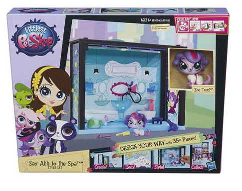 Littlest Pet Shop Say Ahh to the Spa Style Set Only $7! Best Price!