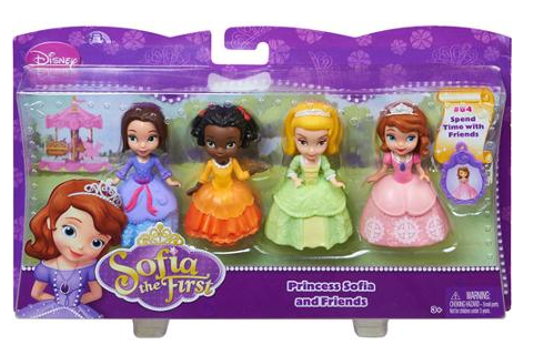 Disney Sofia the First Princess and Friends Set on CLEARANCE for ONLY $7.00 + FREE Store Pickup (reg. $11.38)!