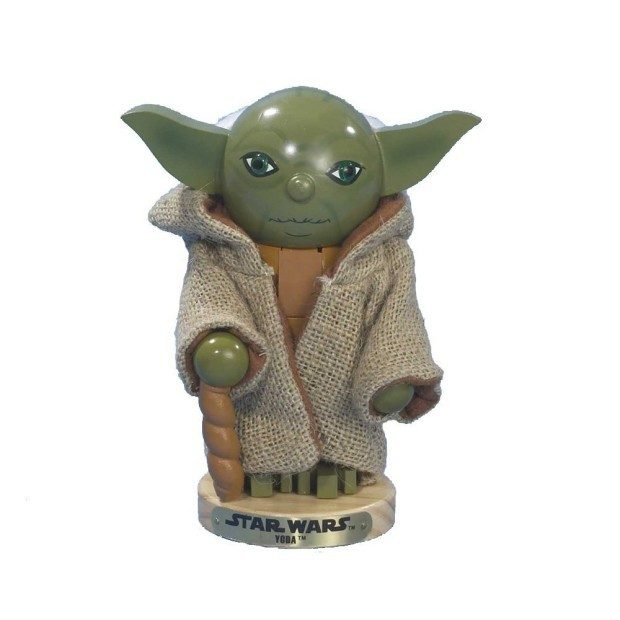 Kurt Adler Star Wars Nutcracker, Yoda Just $10! (Reg. $47.50!)