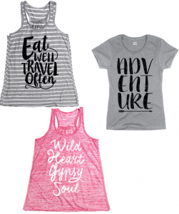 Free-Spirited Flair Tees and Tanks Up to 55% Off!