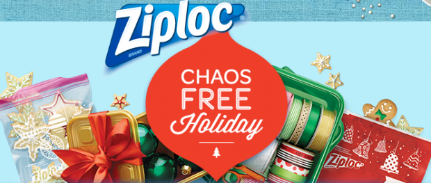 Ziploc Chaos FREE Holiday Instant Win & Sweeps!