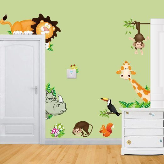 Wild Animal Wall Decals Only $4.07 + FREE Shipping!