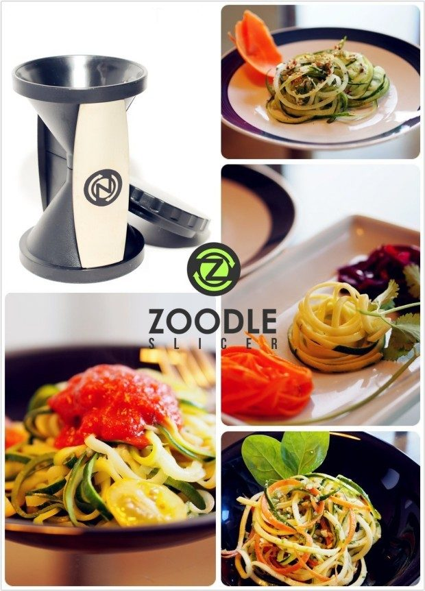 Zoodle Vegetable Spiralizer Only $7.99 (Reg. $30)!