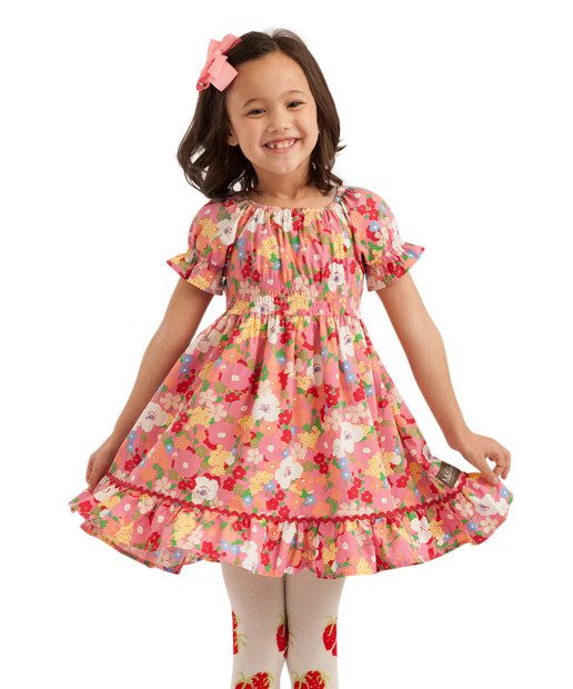Matilda Jane Pink Fairgrounds Betsy Dress Only $16.99!